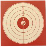 Cibles-tir cartonnées- 14X14cm- Paquet de 100-Ref 14281