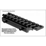 Rail Picatinny- 21m/m- Adaptable sur rail de 11m/m-Ref 17574