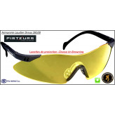 Lunettes-protection-Browning-Claybuster-Tir-Chasse-coloris-jaune-ou-blanc translucide