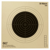 Cibles de tir cartonnées 50 Match 20X20 cm- Paquet de 100