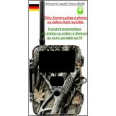 """Caméra- surveillance-Döor- Snapshot-Mobil Black-5.14- IR-SMS controlled-TRANSFERT IMAGES directement sur TELEPHONE ou PC-Flash 60 Leds noires invisibles-""""Promotion""""-Ref 22690"""