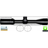 Lunette -Hawke Optics- Vantage-3-9x40-AO-Réticule-Mil Dot-lumineux-vert-rouge-Promotion-Ref 23704
