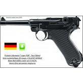 "Pistolet -Luger-P08-Umarex-CO2- Cal 4.5mm- 20 coups-Blow Back-Full Métal-""Promotion""-Ref 25694"