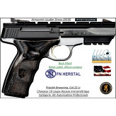 Pistolet-Browning-Calibre 22 Lr-Buck Mark-Black-Label -Micro contour-Semi automatique-Catégorie B1-Promotion-Ref 26131