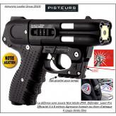 Pistolet -défense-Jpx4 Défender® -Jet Protector-JPX-4L-PRO-4 coups- rechargeable + LASER-Promotion-Ref 26183