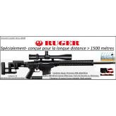 Carabine-Ruger-Précision-rifle-Calibre 308 winch-Répétition-Crosse réglable-rails picatini +Frein bouche-Promotion-Ref 27220