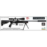 Carabine-ISSC-SPA-Advanced-Tactical-Survival-synthetique-Autriche- Répétition-Linéaire-Cal 22 Lr- ou- 17-HMR+ Mallette-Promotion