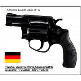 "Révolver-alarme et Starter-Weihrauch-HW 37S -Acier - blanc ou gaz lacrymogène-Cal. 9 mm-""Promotion""-Ref 3401."