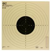Cibles- tir- cartonnées- 50X50cm-Paquet de 10 cibles-Ref 1855
