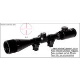 "Lunette-Walther-Allemande- 3-9 X 40 -Réticule Lumineux -RL8-""Promotion""-Ref 7225"