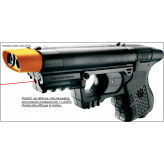 Pistolet -défense-Jpx® -Jet Protector- rechargeable + LASER-Ref 15895