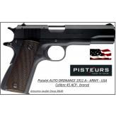 Pistolet-Para-Ordnance-USA-Calibre-45-ACP-Semi automatique-Mod -1911-A1-Army-Catégorie B1-Promotion-Avec-Autorisation-Préfectorale-Ref 777661