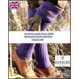 Chaussettes- anglaises- Pennine-Knicker--DS 546- Sportman Viola--Taille M ou L.