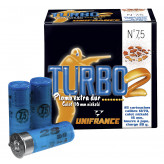 Cartouches -UNIFRANCE- SPORT- Turbo 2 - CAL 12/70 - Plomb n°7,5 - (28grammes)-Ref 16247