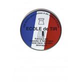 """Plombs-HN-précision -Cal 4.5mm -Air comprimé  """"Ecole de tir""""- par 500 -Tête plate-""""Promotion""""-Ref 3733"""