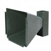 Porte cibles conique pour air comprimé-Robuste-Ref 12485