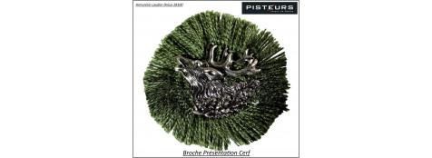 Broche-Présentation-cerf-Ref 14154