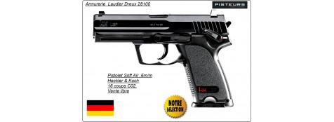 """Pistolet -HECKLER & KOCH-USP- C02-Cal 6mm-Semi auto-""""Promotion""""-Ref 14230"""