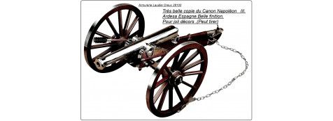 Canon modèle Napoléon III Standard.Ref 14436