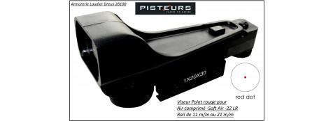 Viseur Rifle scope point rouge -Air comprimé ou Soft air-ou 22 Lr.Ref 14565-7160