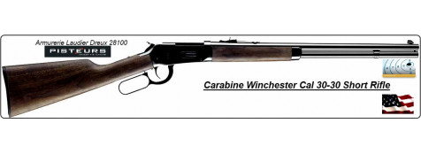 Carabine-Winchester- SHORT RIFLE-USA- Calibre 30-30- Model 94 -Ref 16170