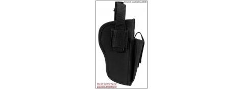 Holster ceinture-Ambidextre- En cordura -Holster à positionner à la ceinture-Ref 16590