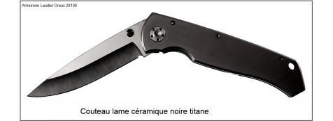 Couteau lame céramique LUKECANDO.ref 17187.