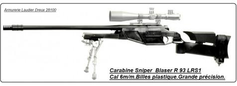 "Carabine- Sniper-Cybergun- Blaser R93 -LRS1--Cal 6m/m-""Promotion "".Ref 17787"