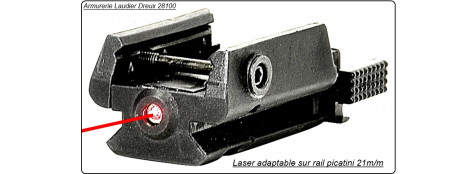 "Laser Cybergun. SWISS ARM .Pour  Rails de 21 m/m .""Promotion"".Ref 17803"