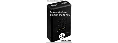 """Appareil- défense-électrique-1 millions 550.000 volts -SP1500-""""Promotion""""-Ref 18541"""