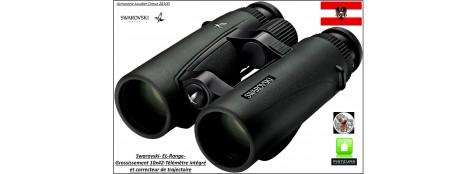 Jumelles-binoculaires-Télémètre-correcteur de trajectoire-tir-SWAROVSKI-ELR-10 X 42-Autrichiennes-Ref 19078