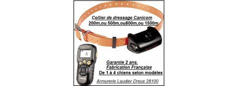 Colliers de dressage chiens- Num'axes-Canicom 5.201,ou 5.202,ou 5.500,ou 5.800,ou 5.1500