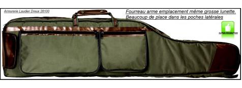 """Fourreau-arme avec lunette-longueur 1m25 -Avec pochettes et anses-""""Promotion""""-Ref 19496"""