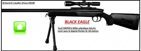 Fusil-sniper-Swiss Arms- à ressort- Cal. 6 mm-Ref 19754