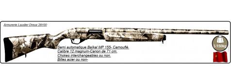 """Semi automatiques Baïkal Mp 155-Cal 12/76-Canon 71 cm-Crosse en synthétique camouflée-Carcasse fraisée-Chokes inter ou non-B-acier ou non-""""Promotions"""""""