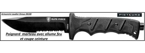 Couteau-Poignard-Marteau-allume feu-Elite-Force-703-Umarex-Ref 19891
