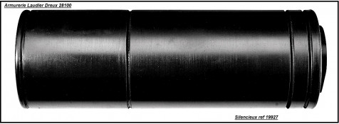 """Silencieux  SAI - Scout -Cal 22Lr-(ou 4,5m/m)-""""Promotion"""".Ref 19940"""