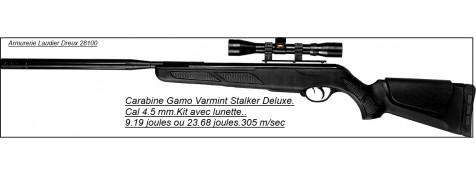 """Carabine Gamo Varmint Stalker- Deluxe-- air comprimé--Cal 4.5mm -9.19 joules- """"Promotion"""".Ref 20028"""