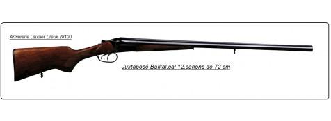 Juxtaposé Baïkal- Ij 43-Cal 12.Extracteur-Doubles détentes- Canons 72cm -Ref 2010