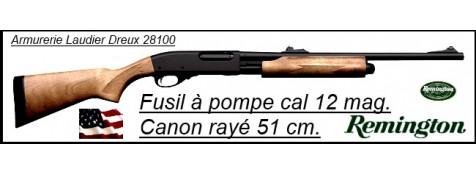 """Fusil à pompe- Remington 870 EXPRESS® -Cal. 12 Magnum-Crosse Bois-Canon rayé de 51 cm-""""Promotion""""-Ref 20269"""