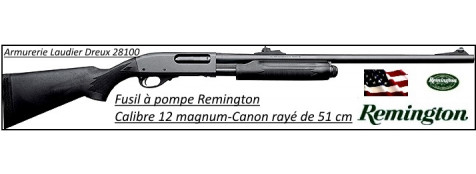"Fusil à pompe- Remington 870 EXPRESS® -Cal. 12 Magnum-Crosse Synthétique-Canon rayé 51 cm-""Promotion""-Ref 20270"