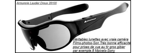 """Lunettes véritables avec vraie caméra.""""PROMOTION"""".Ref 20643"""