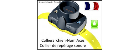 Collier-chien-repérage-sonore-CANIBEEP 5 - NUM'AXES-Ref 20691