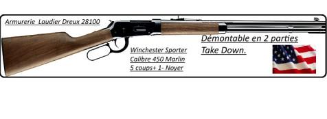 Carabine-Winchester-94 Sporter-USA- Calibre 450 Marlin  -Ref 20906