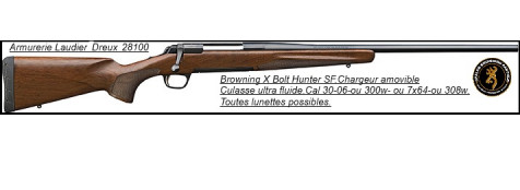 "Browning-® X-BOLT -SF Hunter--Calibre 30-06-""Promotion""-Ref 20932"