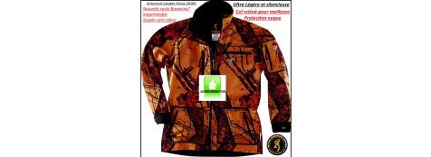 """Veste-Browning'Hell's-Canyon-Camo orange-super légère -Chaude-Imperméable-Respirante-Anti odeur-Silencieuse-tailles M-L-XL-XXL-XXXL""""Promotion"""""""