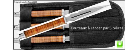 Couteaux-lancer -par 3-Max Knives-Pack-Ref 21993