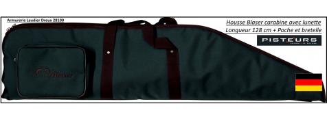 Blaser-Fourreaux- pour carabines-avec lunettes-Long-128 cm-Cordura-Blaser-Promotion-Ref 22613