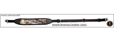 Bretelle-Browning- Carabine -Camo-Néoprène 6 mm-Ref 22742