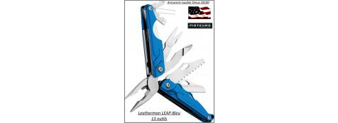 Couteau-LEATHERMAN-LEAP-bleu-13-outils -Ref 24895